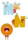 アルファベット MNO 10494000050| 写真素材・ストックフォト・画像・イラスト素材|アマナイメージズ
