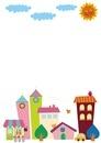 街のフレーム 10494000079| 写真素材・ストックフォト・画像・イラスト素材|アマナイメージズ