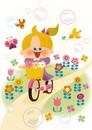 春のサイクリング 10494000085| 写真素材・ストックフォト・画像・イラスト素材|アマナイメージズ