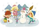 雪だるま 10494000139| 写真素材・ストックフォト・画像・イラスト素材|アマナイメージズ