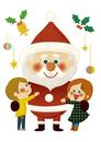 サンタさんといっしょ 10494000140| 写真素材・ストックフォト・画像・イラスト素材|アマナイメージズ