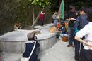 台湾、猫村の記念撮影