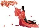 平安時代の女性 秋