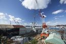 歴史の見える丘より戦艦大和を建造したドック 旧呉海軍工廠