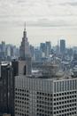 都庁展望台より望む東京のスカイライン