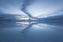 ウユニ塩湖の夕暮れ4