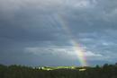 美瑛の丘と虹