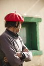 ベレー帽とパタゴニアの牧童ガウチョ