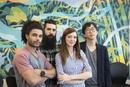 Creative colleagues, portrait