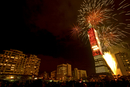 Firework display in Taipei
