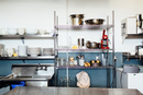 Tidy and clean industrial kitchen