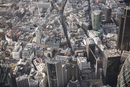 Full frame aerial view of city, London, England, UK