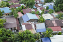 Full frame shot of houses in George Town