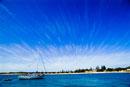 晴天のロットネス島