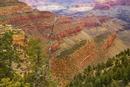Erosion Landscape, South Rim, Grand Canyon, Coconino County, Arizona, USA