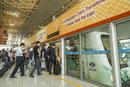 北京首都国際空港の列車