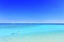 沖縄波照間島 ニシ浜と海