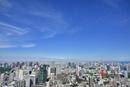 六本木ヒルズよりスカイツリーと東京タワーに東京の街並み展望