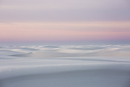Sunset over tranquil white sand dune, White Sands, New Mexico, United States
