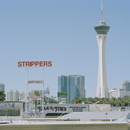 USA, Nevada, Las Vegas, Commercial signs at Las Vegas Boulevard