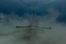 Hammerhead in the mist