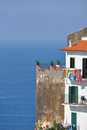 House on coast, Sperlonga, Latina, Italy