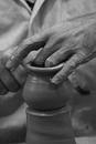 Clay pot molding, Dubai, United Arab Emirates