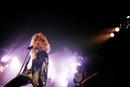 Rock Singer on Stage Performing