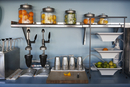 Fresh juice preparation station