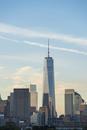 Skyline, morning light, Downtown, Manhattan, New York