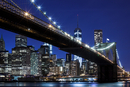 Brooklyn Bridge, views of the East River onto the Manhattan