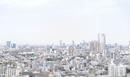 六本木、新宿方面 港区芝からの眺め