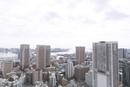 お台場方面ウォーターフロント港区芝からの眺め