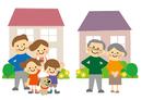 家と家族(二世代と高齢者夫婦)
