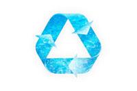 水のリサイクルマーク