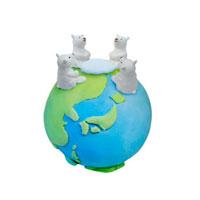 ホッキョクグマと地球