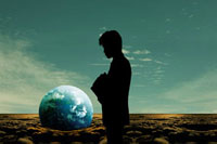 環境問題を考える人