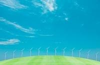 風力発電 07800021567  写真素材・ストックフォト・画像・イラスト素材 アマナイメージズ