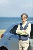車と中高年男性