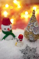 雪だるまの人形 07800052154| 写真素材・ストックフォト・画像・イラスト素材|アマナイメージズ