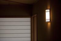 和室の廊下の明かり