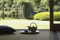 お茶と急須 07900000239| 写真素材・ストックフォト・画像・イラスト素材|アマナイメージズ