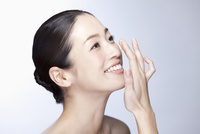 中年女性の美容イメージ 07900004518| 写真素材・ストックフォト・画像・イラスト素材|アマナイメージズ