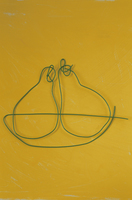 ワイヤーで作った洋なし 09501011180| 写真素材・ストックフォト・画像・イラスト素材|アマナイメージズ