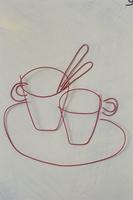 ワイヤーで作ったカップ 09501011184| 写真素材・ストックフォト・画像・イラスト素材|アマナイメージズ