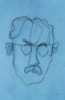 ワイヤーで作った男性の顔 09501011276| 写真素材・ストックフォト・画像・イラスト素材|アマナイメージズ