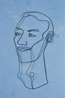 ワイヤーで作った男性の顔 09501011330| 写真素材・ストックフォト・画像・イラスト素材|アマナイメージズ