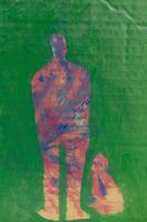 イラスト、人と犬 09501011391| 写真素材・ストックフォト・画像・イラスト素材|アマナイメージズ