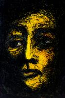 イラスト、顔 09501011416| 写真素材・ストックフォト・画像・イラスト素材|アマナイメージズ