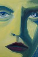 女性の顔のアップ 09501011448| 写真素材・ストックフォト・画像・イラスト素材|アマナイメージズ